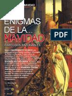 ENIGMAS DE LA NAVIDAD (Moisés Garrido, 'Más Allá', Dic'18)