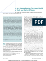Impact of Adoption of a Comprehensive Electronic Health record on nursing work and caring efficacy-1
