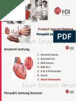 Penyakit Jantung Koroner (PSM HDI Hive 8 Sept 2018)