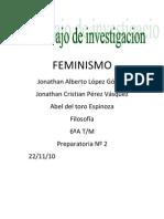 Feminismo Jonathan