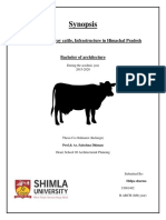 synopsis on cattle's welfare
