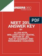 NEET-2018-Answer-key