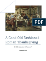 Roman Thanksgiving