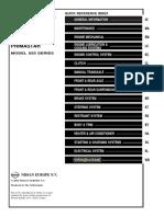 Nissan Primastar X83 (2002-2006) Service manual #1