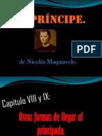 Análisis del Príncipe-Maquiavelo