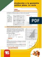 COVEÑAS  geometria analitica