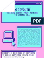 Digiyouth - one page