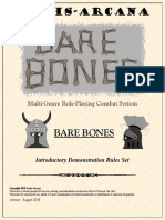 Techs-Arcana Bare Bones Rules
