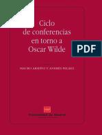 CONFERENCIAS EN TORNO A OSCAR WILDE