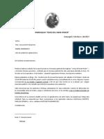 CARTA SOLICITANDO RESGUARDO POLICIAL BINGO MARZO 2013 JGP