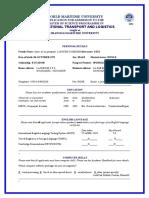 Application form ITL English - 2019