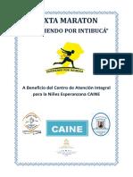 Informe Sexta Maratón Corriendo Por Intibucá