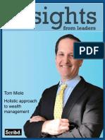 Tom Miele - Wealth Advisor at Bernstein Private Wealth Management