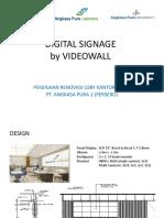 DIGITAL SIGNAGE VIDEOWALL LG VS SAMSUNG