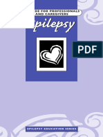 Epilepsy - Guide For Professionals & Caregivers
