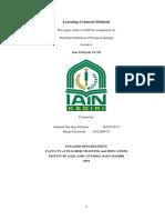 TEFL - Learning Centered Methods.docx
