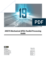 ANSYS Mechanical APDL Parallel Processing Guide v19.0