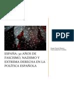 España, 30 años de fascismo, nazismo y extrema derecha en la política española