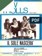 IL SOLE NASCERA' - NEW TROLLS