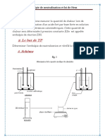 ENTHALPIE DE NEUTRALISATION