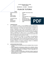PLAN DE TUTORIA-5° D-NOEMI-2019