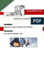 DESARROLLO DE METRADO PARA HALLAR LA CANTIDAD DE MATERIALES DEL PLANO DE ALBAÑILERIA.docx