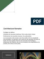 Présentation Architecture ancienne