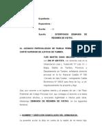 DEMANDA REGIMEN DE VISITAS DE YURO.rtf