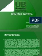 DISERTACION OSMOSIS