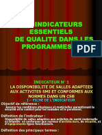 LES INDICATEURS ESSENTIELS DE QUALITE (SMI)1..ppt
