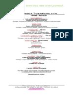 Programme JCBB 2018-2019