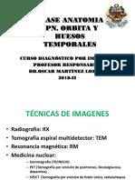 3. SPN, Órbitas y H. Temporales - Anatomía