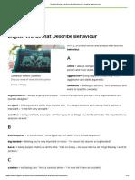 English Words that Describe Behaviour – Ecst.pdf