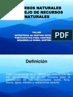 SESION_3_RECURSOS_NATURALES_Y_MANEJO_RECURSOS.ppt