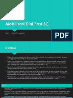 Mobilisasi Dini Post SC