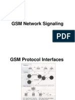 GSM Network Signaling