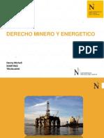 DERECHO MINERO Y ENERGETICO