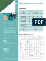 APSmAT Self-Priming Peripheral Pump