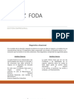 MATRIZ FODA. Clase 2019-II