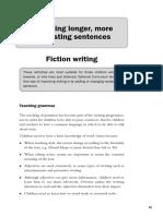 Fictional  Writing