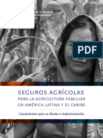 Seguro agricola para la agricultura familiar