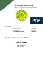 MAKALAH AKUNTANSI SEKTOR PUBLIK Sekilas Manajemen Strategi dan Implementasi strategi di pemerintah