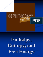 HCHEM Notes Enthalpy Entropy and Free Energy.ppt