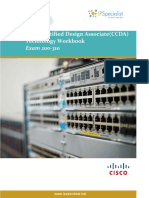 ccda cisco certified design associate technology workbook exam 200-310