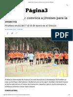 Alianza Univ. convoca a jóvenes para la reserva _ Página3