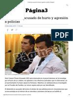Cárcel para acusado de hurto y agresión a policías _ Página3