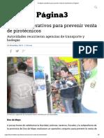 Realizan operativos para prevenir venta de pirotécnicos _ Página3