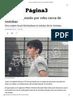 Joven es detenido por robo cerca de restobar _ Página3