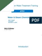 Good Nalco Document for High Pressue Boiler Chemistry