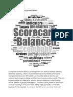 WHAT IS A BALANCED SCORECARD.docx
